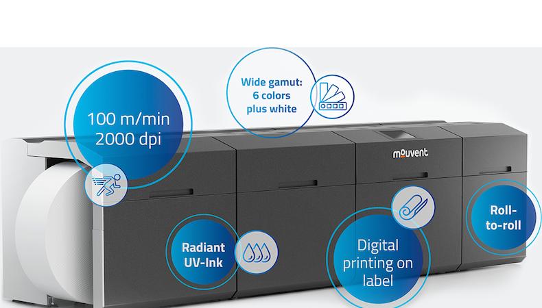 Mouvent lanza su impresora textil digital con calidad insuperable