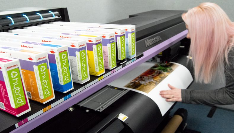 The Clever Baggers step-up production with the purchase of a  Mimaki CJV150-75 from CMYUK