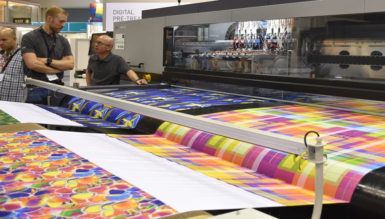 ITMA 2019 Waterless Digital Textile Printing takes centre stage