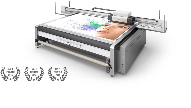 swissQprint's Nyala large format printer hits the top of the European market
