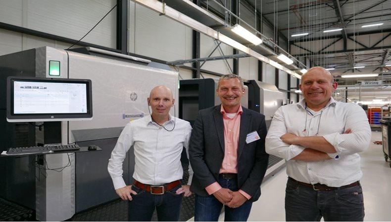 Bei Albumdrucker feiert die HP Indigo 50000 seine europäische Premiere