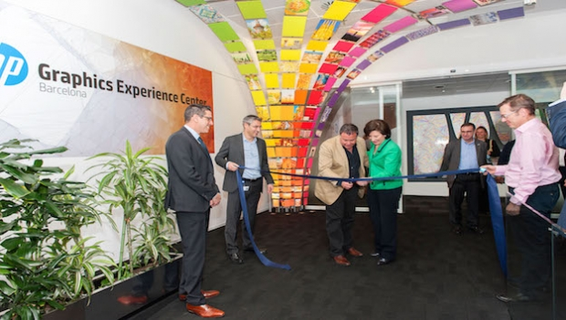 HP opens a world-class Graphic Experience Center in Barcelona