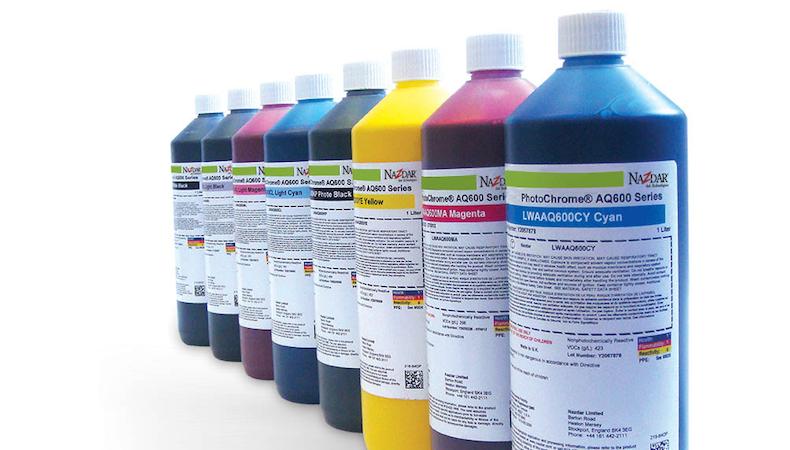 Nazdar releases new dye sub inks