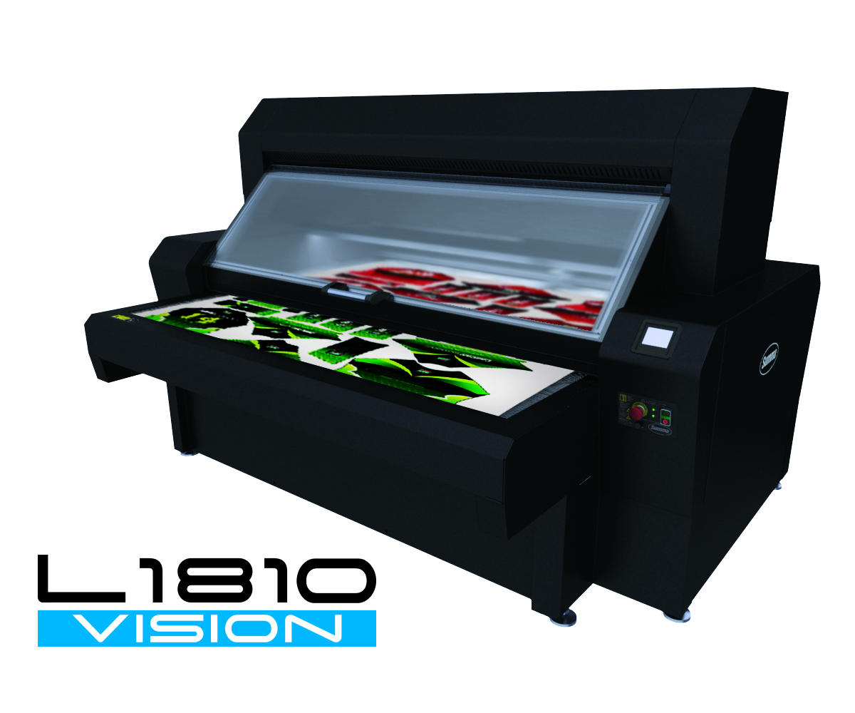 Summa introduces L1810 laser cutting system for the