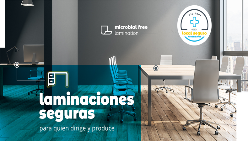 Decal, nueva gama microbial free