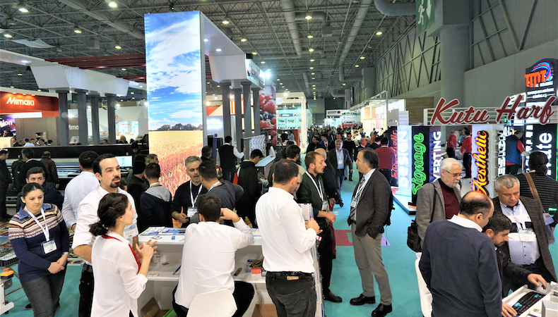 Exhibitors show commitment to FESPA Eurasia 2017