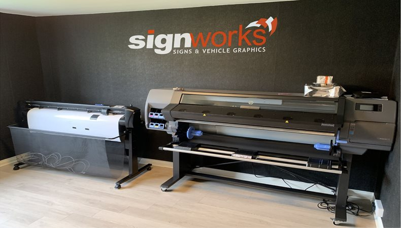 Signworks speeds up with HP Latex 315