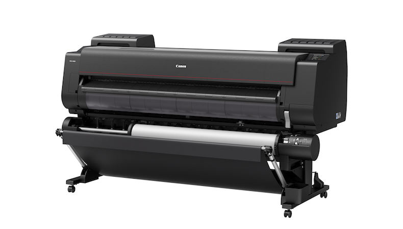 Canon launches PRO 6000 wide format printer