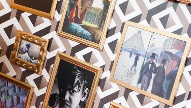 Explore las posibilidades de la impresión para decoración de interiores