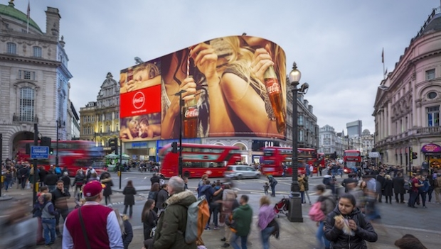 Ocean unveils Piccadilly Lights transformation