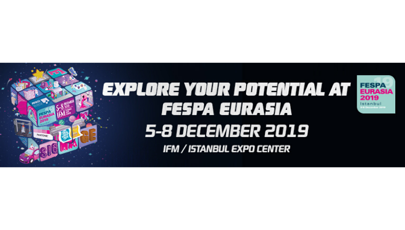 Sell-out FESPA eurasia 2019 is 30% larger than 2018 edition