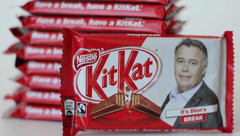 Chocolates personalizados con HP Indigo