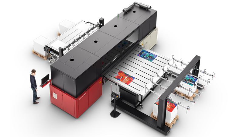 Agfa to demo Oberon and Jeti Tauro wide-format engines at FESPA 2020