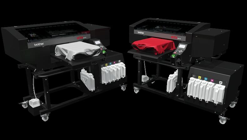 Brother GTXpro Bulk bietet Massenproduktion und Flexibilität in einer Maschine
