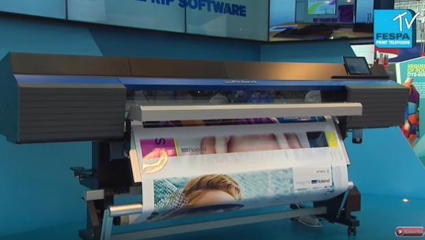Roland DG's new TrueVIS VG series captures the imagination at FESPA Digital