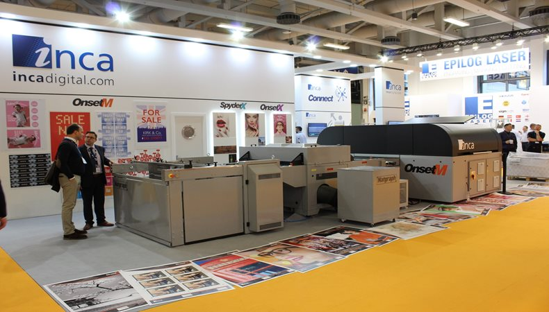 Inca Digital celebrates another successful show at FESPA