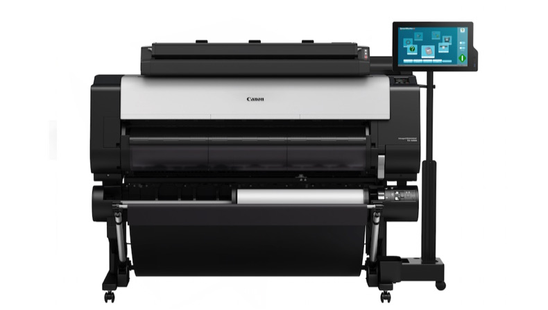 Canon unveils new wide format CAD printers