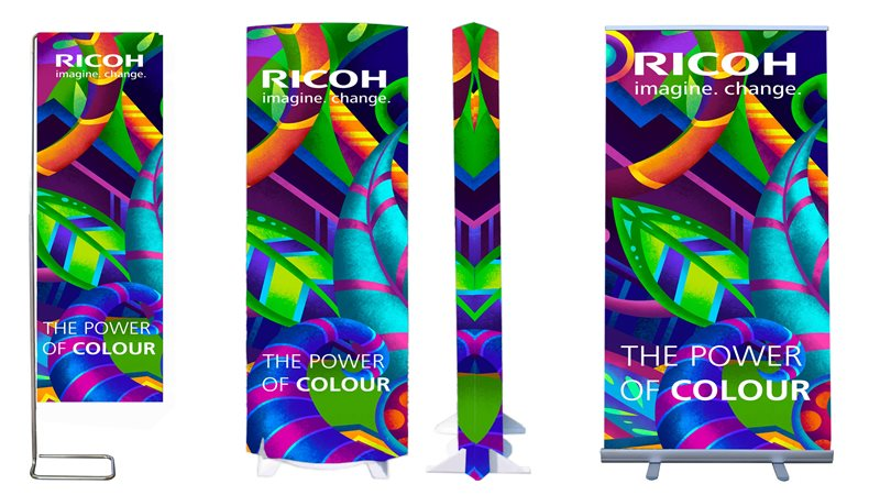 Ricoh demonstrates application versatility at FESPA