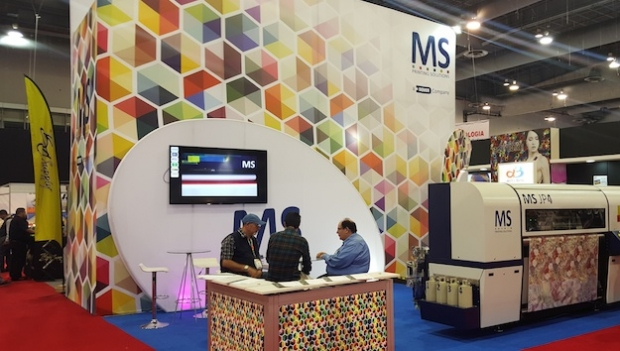 MS Italy presents the digital textile printer JP4 at FESPA Mexico