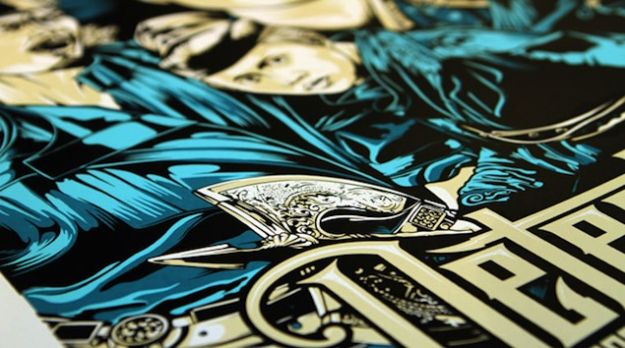 52 Spectacular Screen Print posters