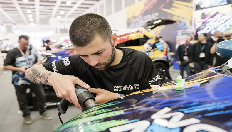 Vehicle wrappers to battle it out in World Wrap Masters final at Global Print Expo 2019