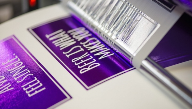 Make them shine! Affordable foiling without dies