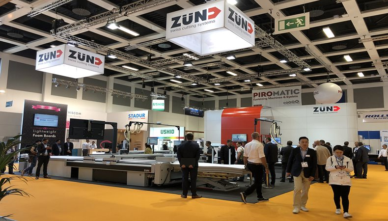Zünd at Fespa 2018: another successful trade-show appearance