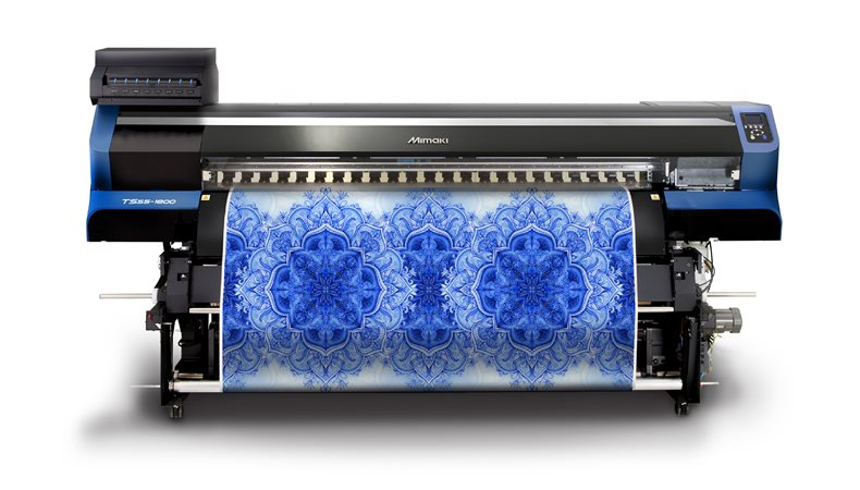 Mimaki targets textiles with TS55-1800