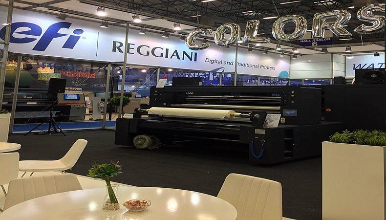 EFI erweitert das Textildruck-Portfolio um Reggiani COLORS