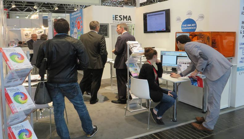 ESMA informiert zum industriellen Druck auf der FESPA 2018