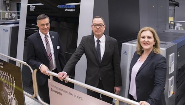 Heidelberg lanza el primer sistema de impresión digital Primefire 106