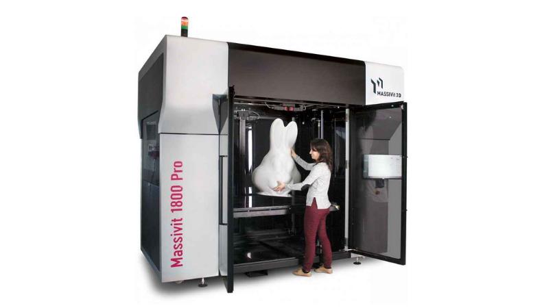 3D-Druck im Supergroßformat: Massivit 1800 Pro und Anwendungen auf der FESPA 2019