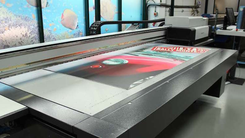 Fine Cut first in UK for new Impala LED printer