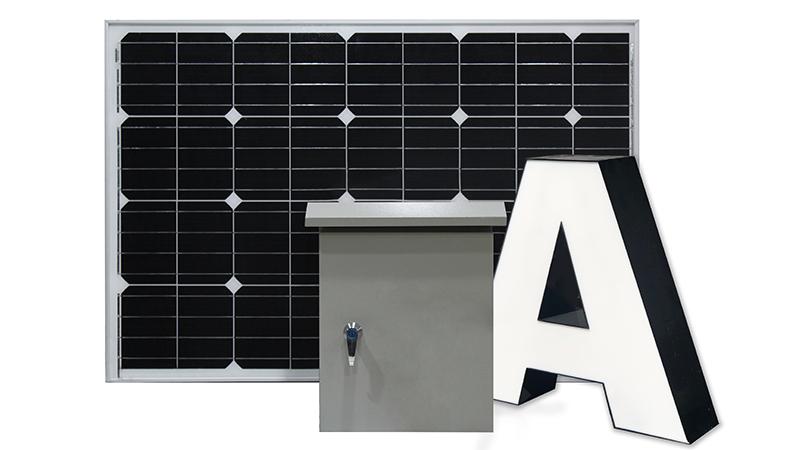Signage and sustainability