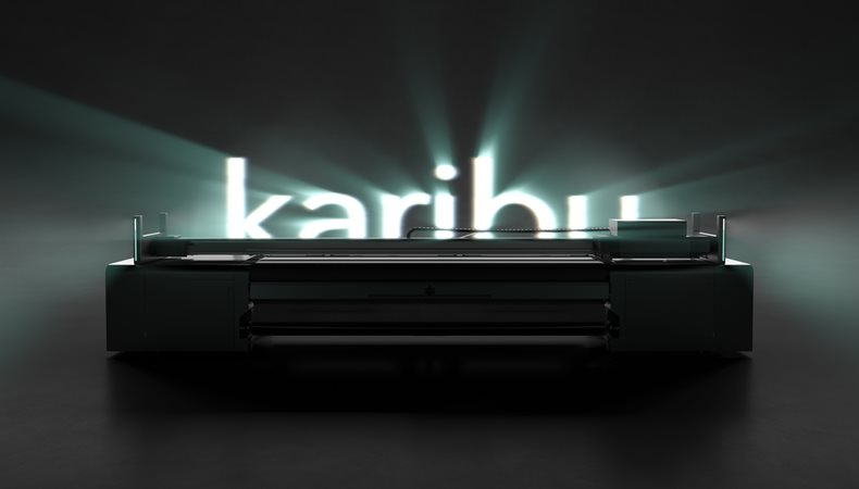 swissQprint: Karibu roll to roll printer to début at the Global Print Expo 2019