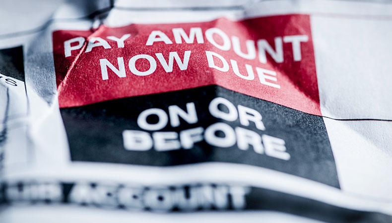 Cómo lidiar con los pagos atrasados