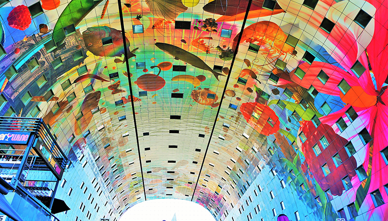 Seven wonders of the printing world: 1. Rotterdam Markthal