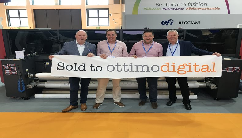 Ottimo Digital's Directors discuss 3-year growth and investing in EFI VUTEk technology from CMYUK