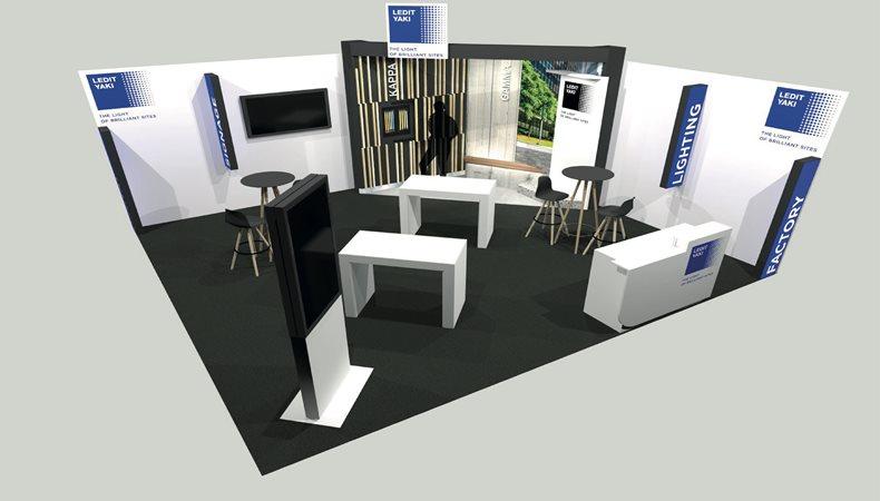 LEDIT YAKI beobachtet Kundeninteraktionen auf der European Sign Expo 2021