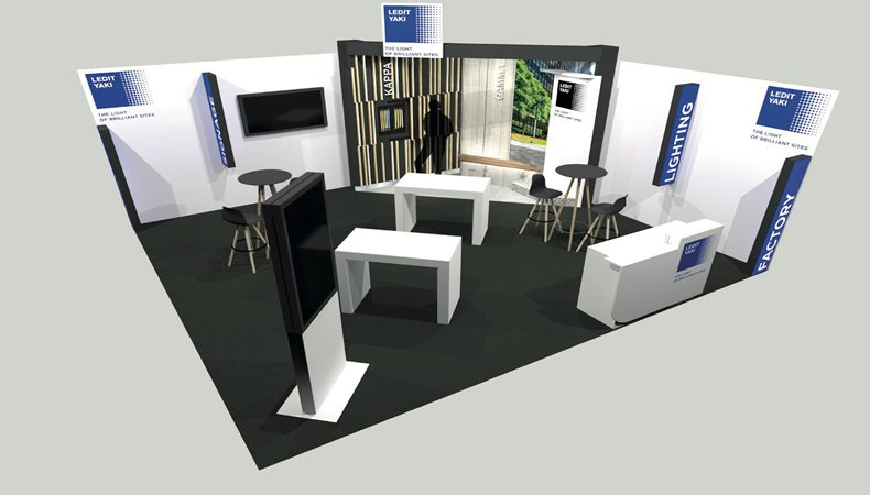 LEDIT YAKI eyes customer interaction at European Sign Expo 2021